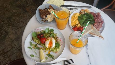 O brunch do Café Janis
