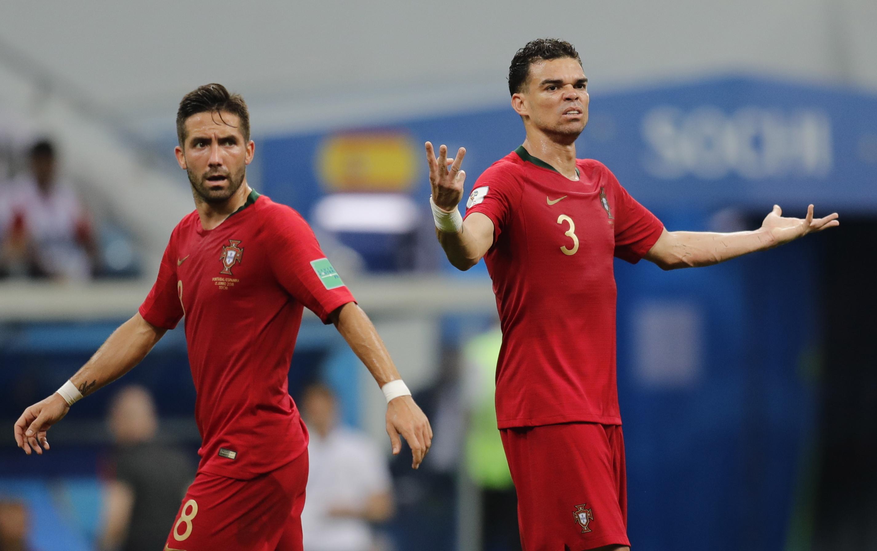 """Mundial2018: Pepe descarta """"favoritismo"""" de Portugal frente a Marrocos"""