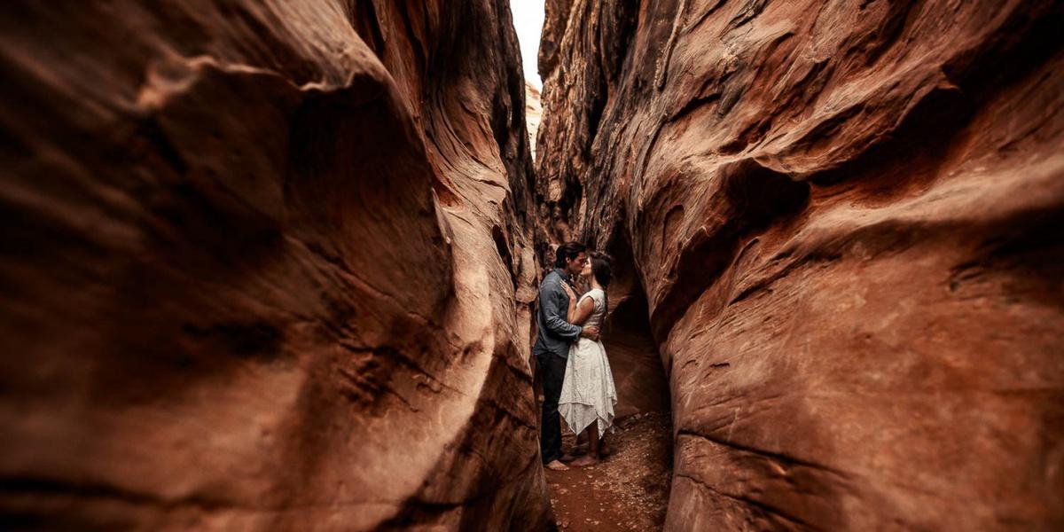 O amor retratado em paisagens incríveis