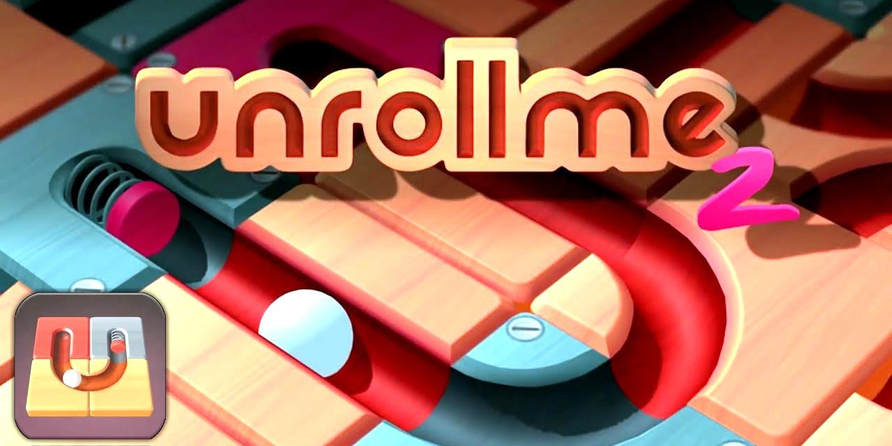 Supere desafios e quebra-cabeças em Unroll Me 2
