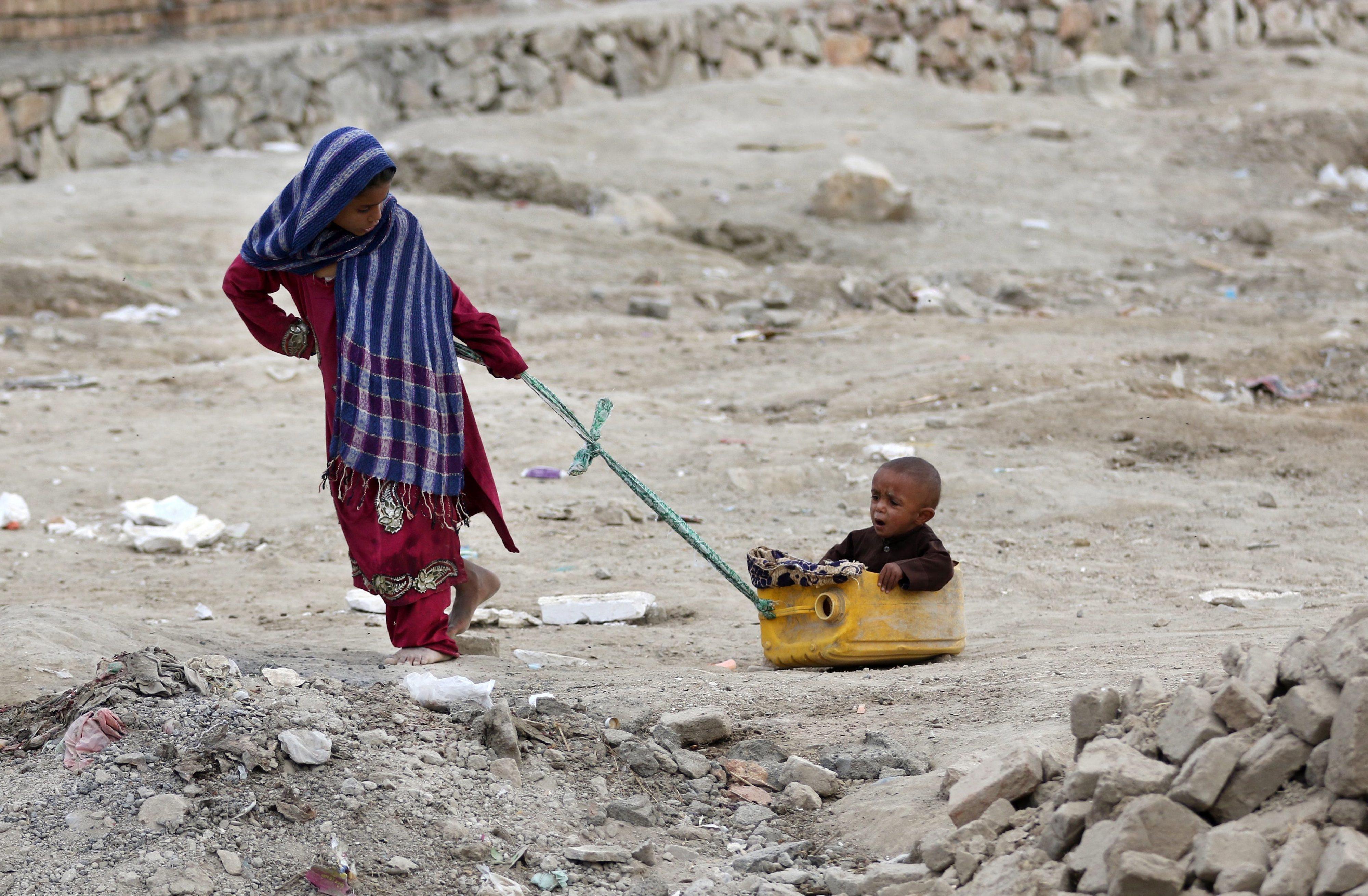 Quase metade dos deslocados internos no mundo são crianças