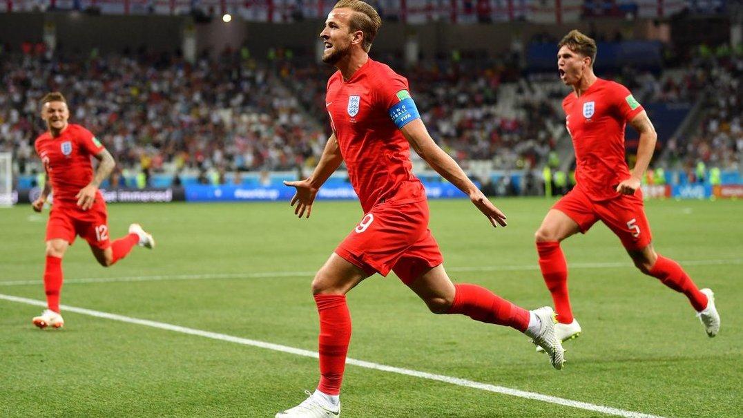 Kane marca nos descontos e Inglaterra vence Tunísia na estreia