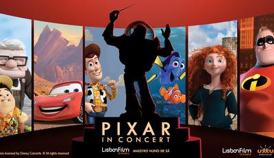 """""""Pixar in Concert"""": Uma viagem à infância pelas bandas sonoras dos filmes"""
