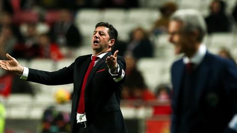 """Rui Vitória: """"Somos uma equipa muito determinada"""""""