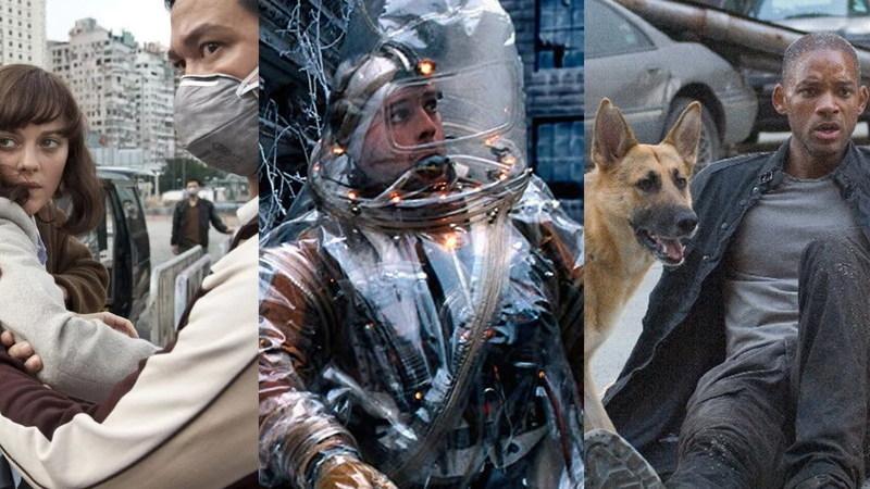 Contágio, fatos brancos, Will Smith e um cão: filmes a evitar em tempos de pandemia