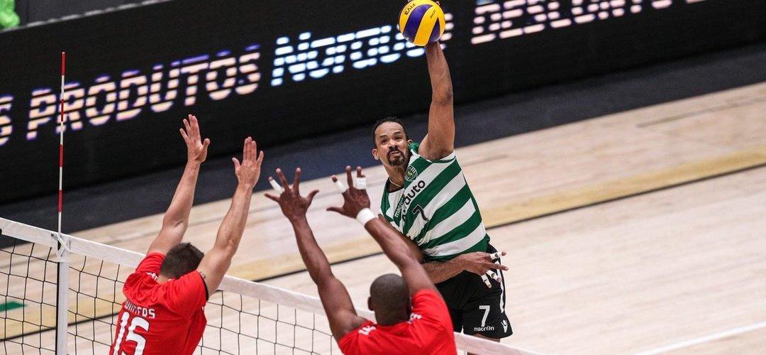 Voleibol: Benfica a uma vitória de conquistar o campeonato frente ao Sporting