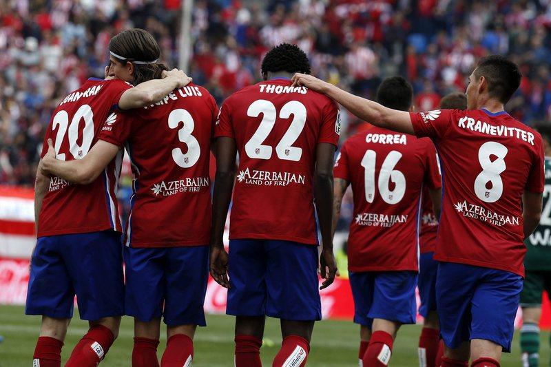 UEFA realizou controlos antidoping a dez jogadores do Atlético