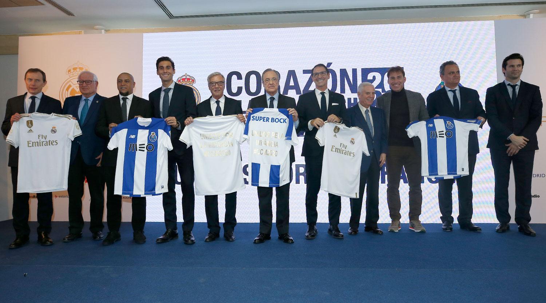 Velhas glórias de FC Porto e Real Madrid disputam jogo solidário
