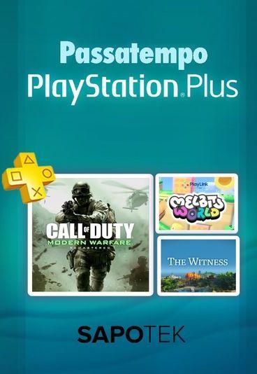 Ganhe uma das três assinaturas PlayStation Plus de um ano