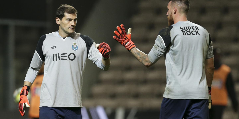 FC Porto-Portimonense: Casillas regressa à baliza do FC Porto