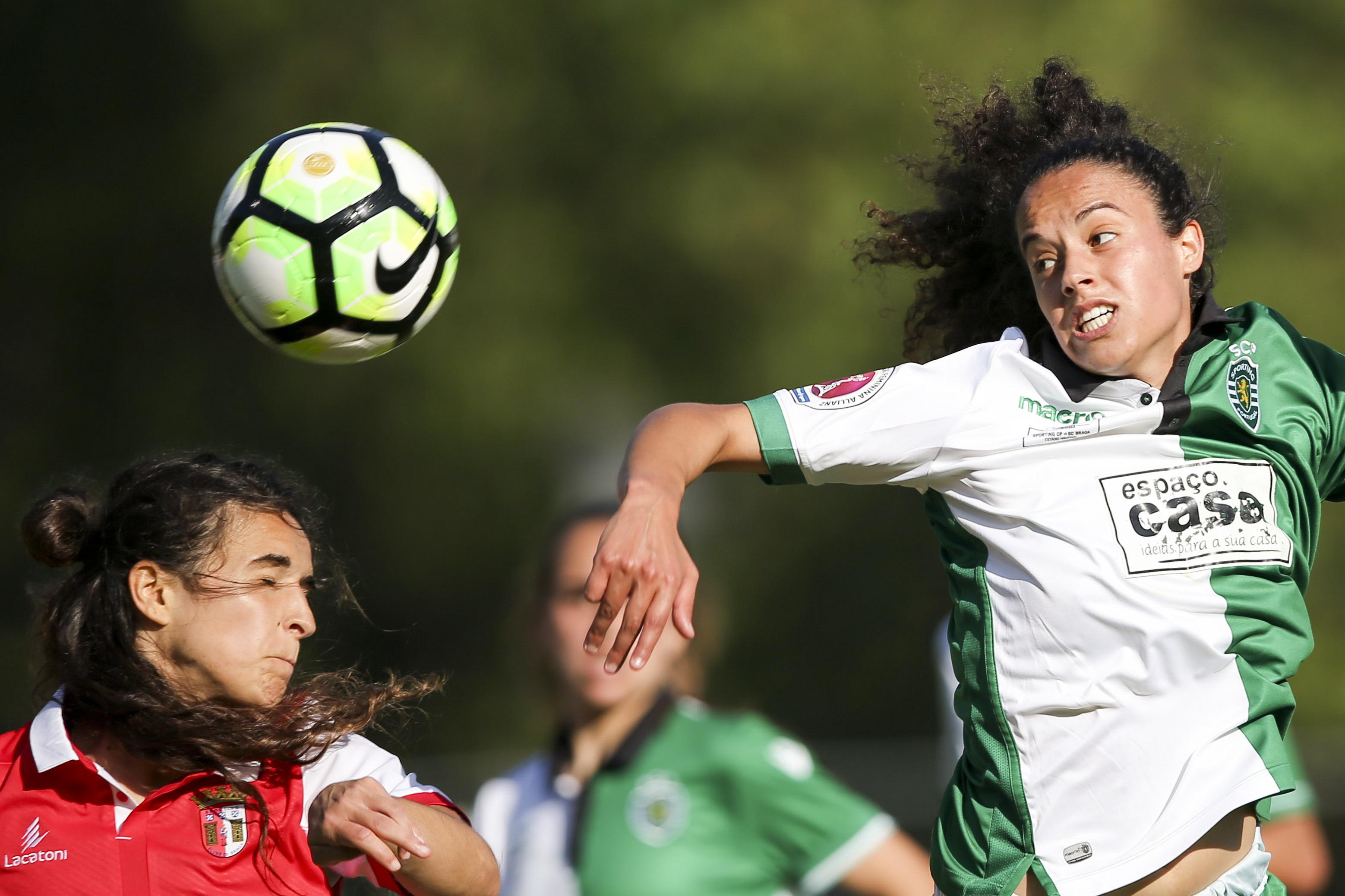 Sporting joga fase de grupos da 'Champions' feminina na Croácia