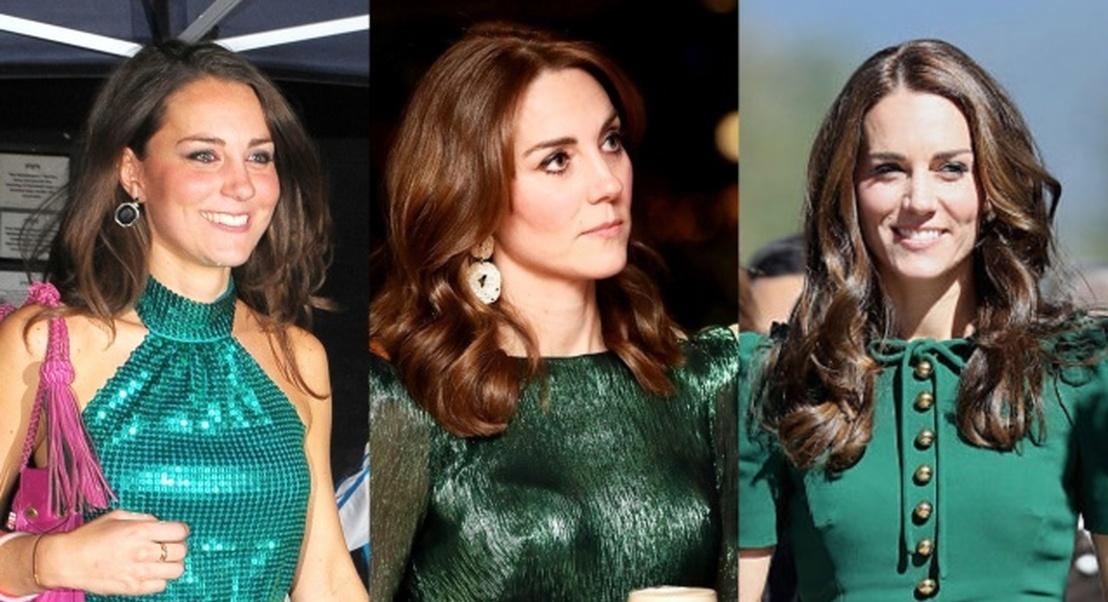 A prova de que o verde é uma das cores que Kate mais gosta de usar – entenda o motivo