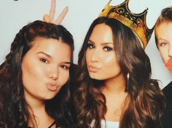 A mensagem tocante da irmã de Demi Lovato no aniversário da cantora