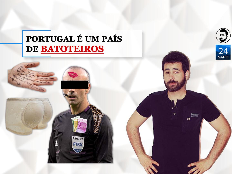 Portugal é um país de batoteiros