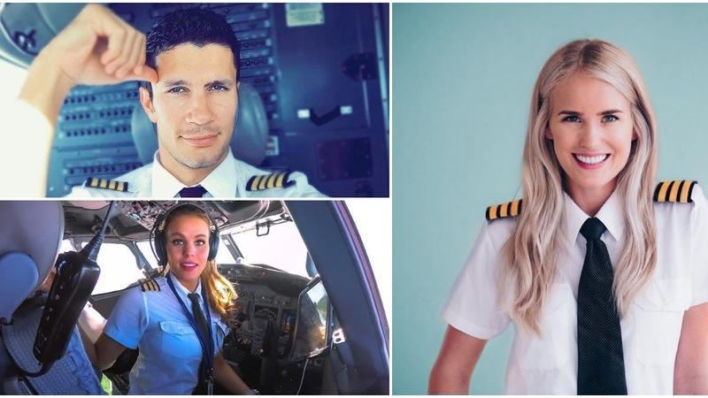 Os pilotos - homens e mulheres - que fazem subir a temperatura nas redes sociais