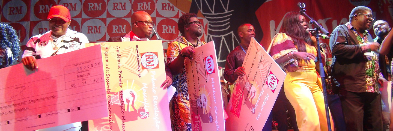 Alguns vencedores do Ngoma 2017
