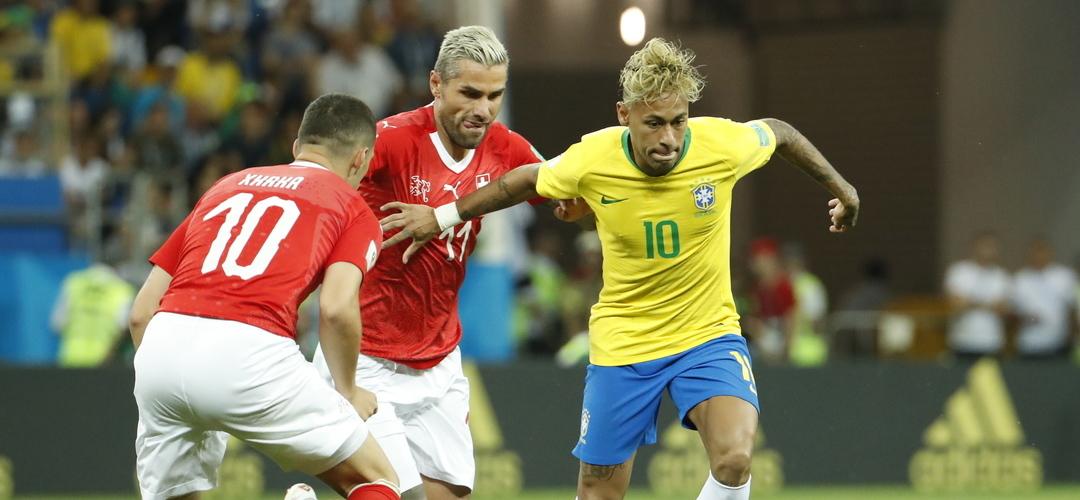 Mundial'2018: Brasil também desilude ao empatar com a Suíça na estreia