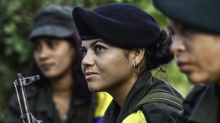 Manuela, uma das mulheres soldado das FARC, Colômbia