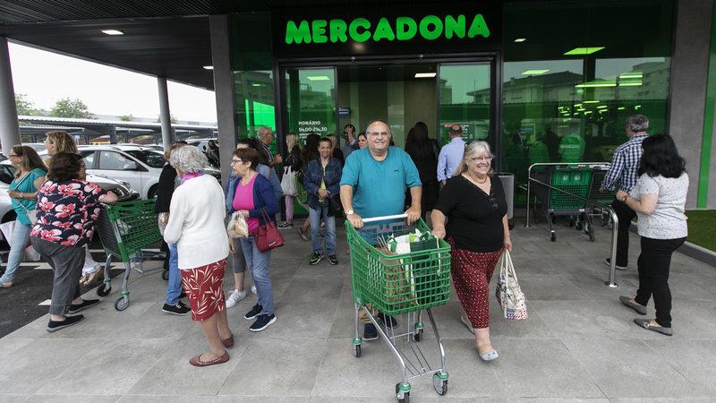 Mercadona vai inaugurar o primeiro supermercado em Braga. É o quinto em Portugal