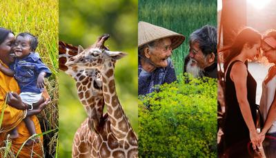 40 fotografias mostram os diferentes significados da palavra amor à volta do mundo