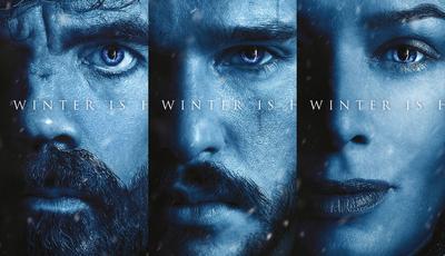 """Frio, muito frio: Os novos cartazes de """"A Guerra dos Tronos"""""""