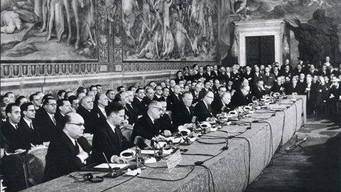 Vídeo: Projeto europeu celebra 60 anos mergulhado em incertezas