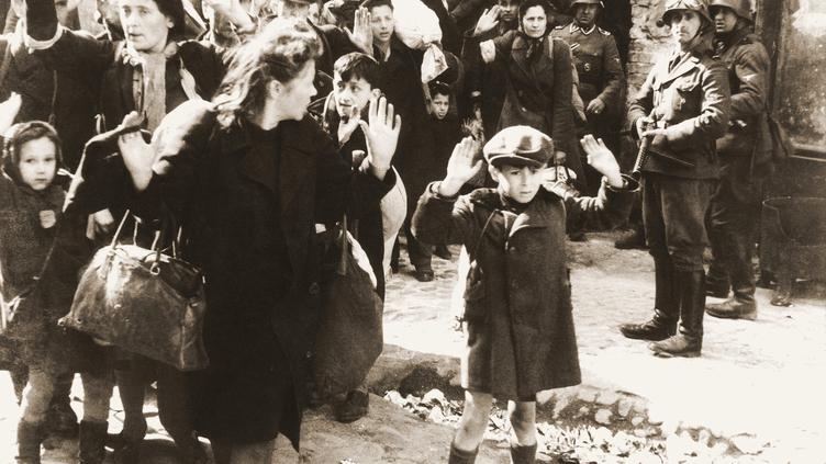 A revolta no gueto de Varsóvia - II guerra mundial