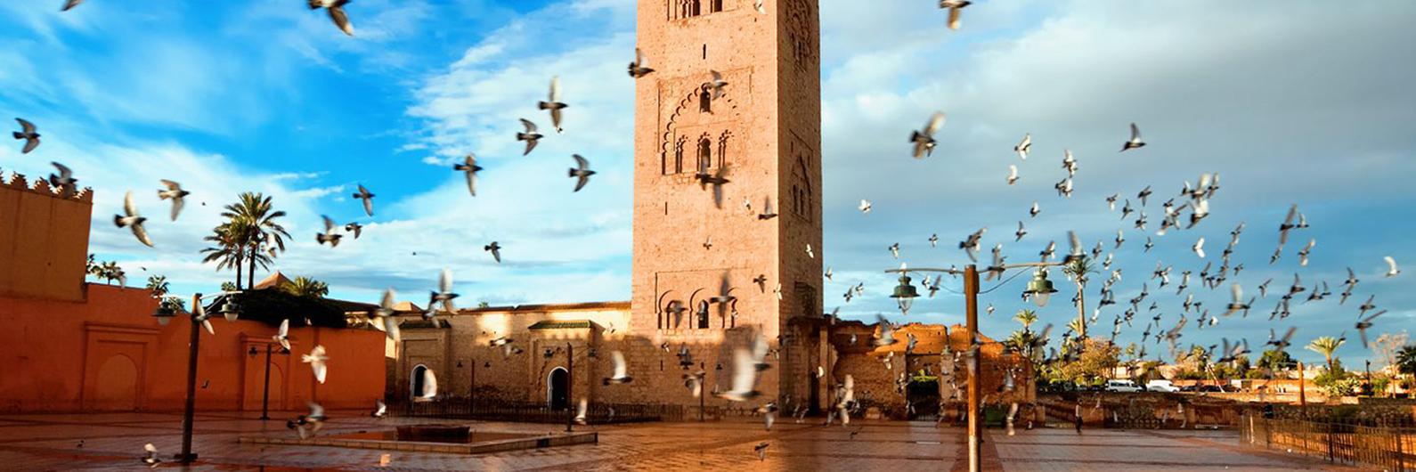 Perca-se pela inesquecível cidade exótica de Marraquexe