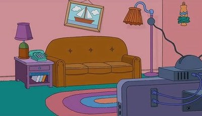 Quer ter uma sala como a de Friends, Simpsons e Stranger Things?