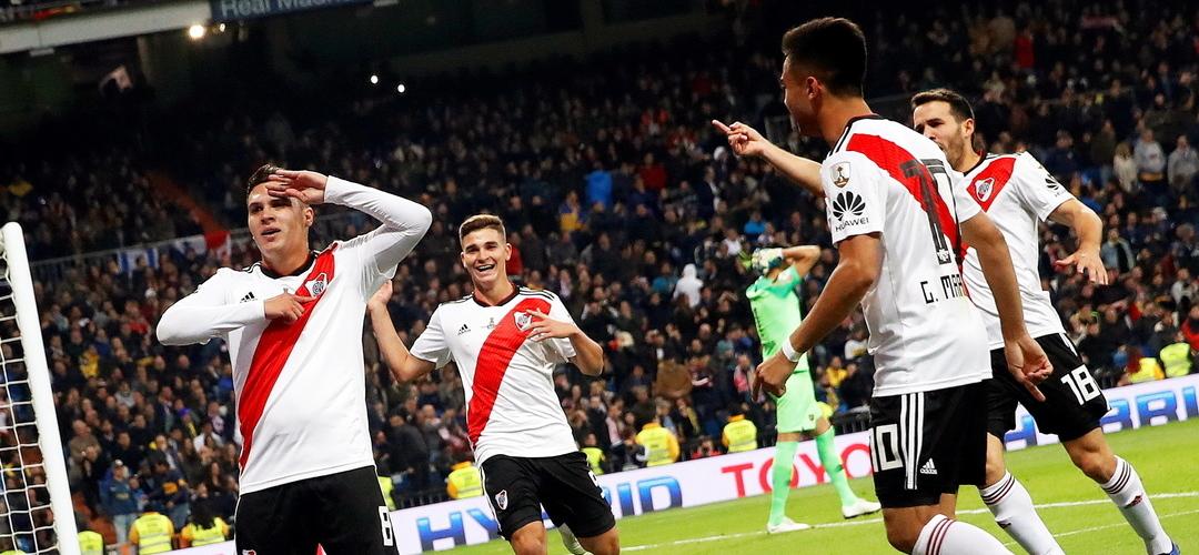 River Plate vence 'superclássico' em Madrid e conquista a Taça Libertadores