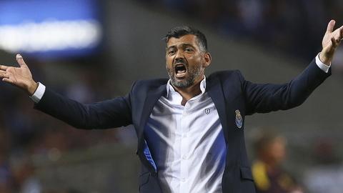 """Sérgio Conceição: """"Uns dias pratica-se um futebol champanhe, noutros um tinto da tasca"""""""