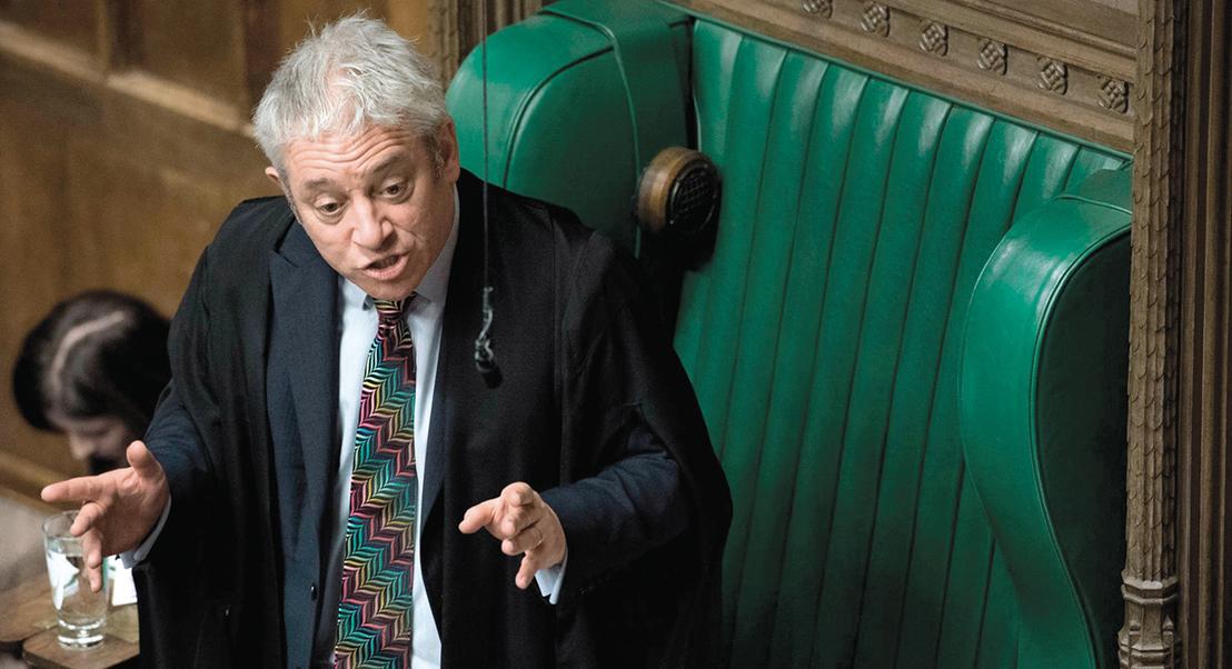 John Bercow. O homem que pôs 'ORDEM' no debate do Brexit