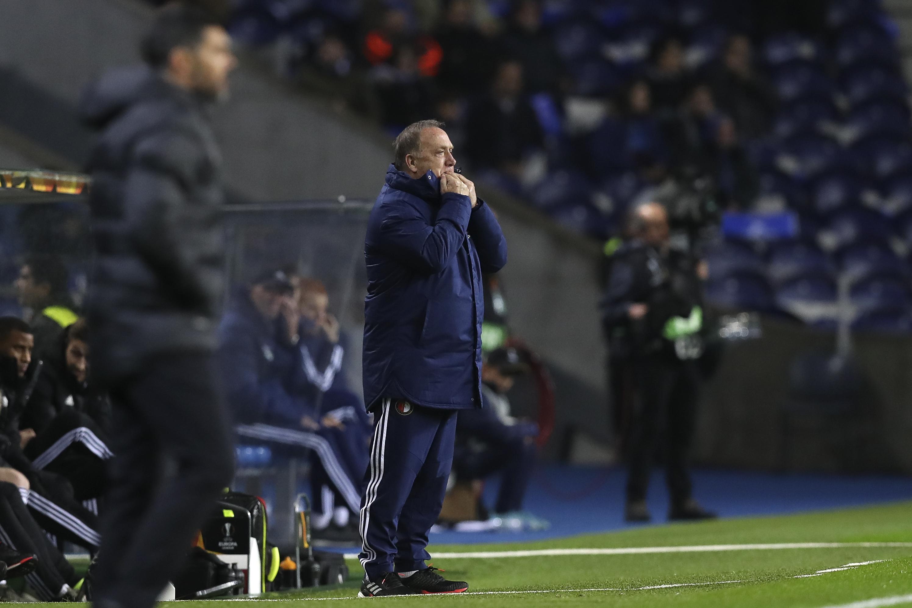 """Treinador do Feyenoord: """"Queria testar a equipa contra um clube de topo europeu"""""""