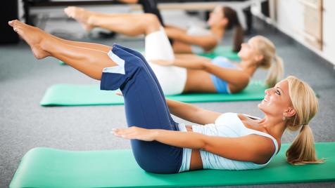 Aulas de fitness em alemão, o que pode correr mal?
