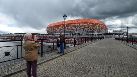 Fotos: Conheça melhor o Arena de Saransk, o 'parto' difícil que recebe Portugal-Irão