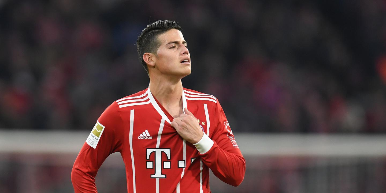 """James Rodríguez e as declarações de Ronaldo: """"Dizem-se palavras que não se devem"""""""