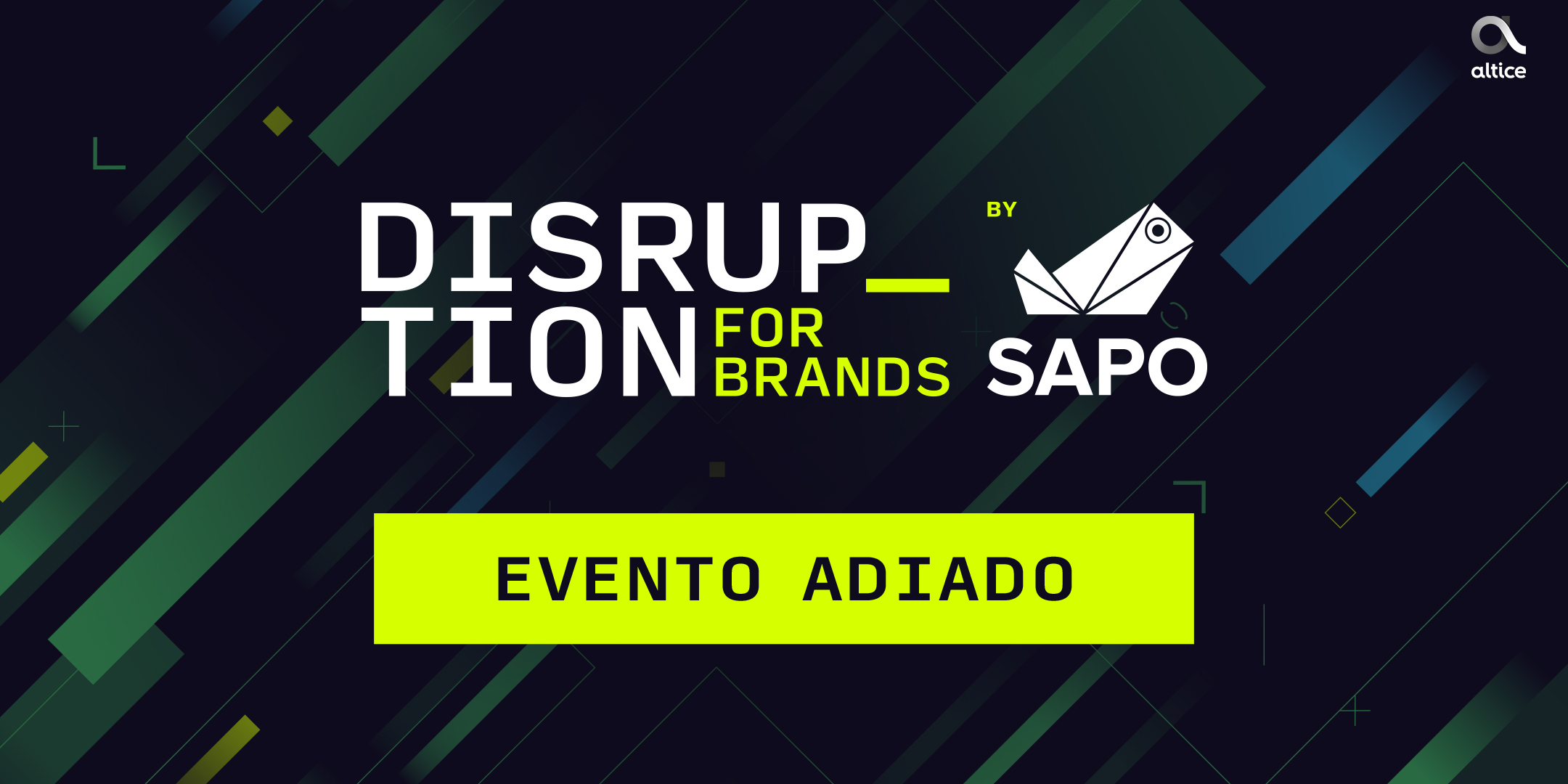 Habilite-se a ganhar bilhetes para a conferência  Disruption for Brands by SAPO