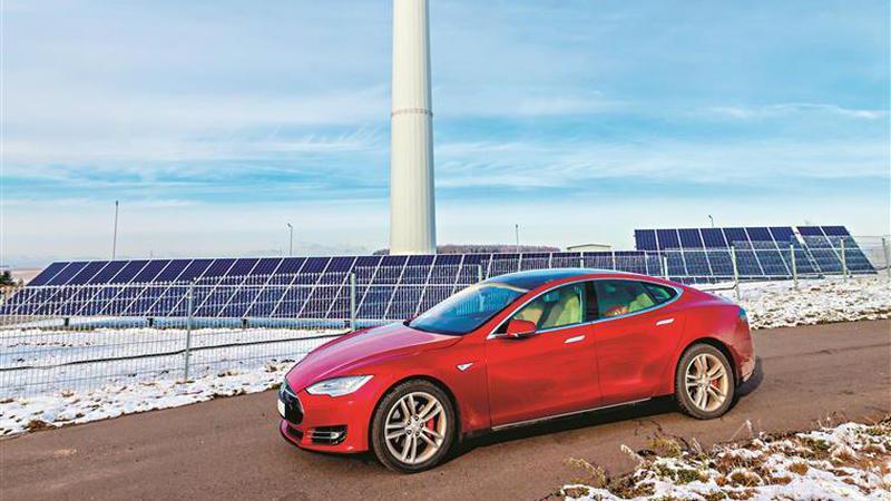Conduzir com renováveis e reciclagem