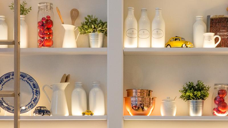 Organize a sua cozinha e seja mais feliz