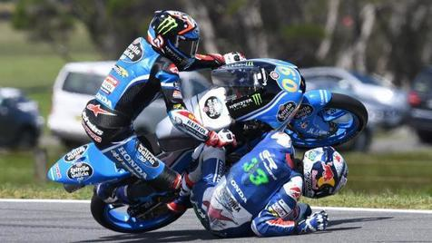 MotoGP: Um dos momentos mais assustadores do fim de semana na Austrália