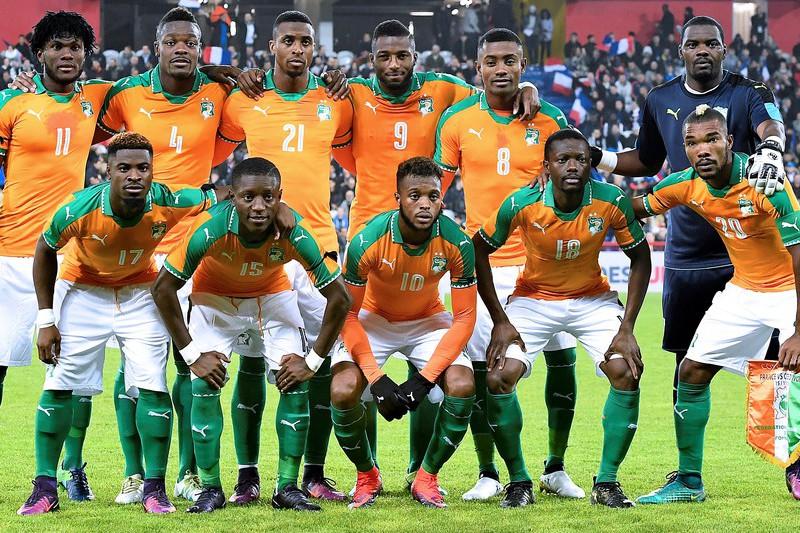 Costa do Marfim vence em casa da Rússia, anfitriã do Mundial2018