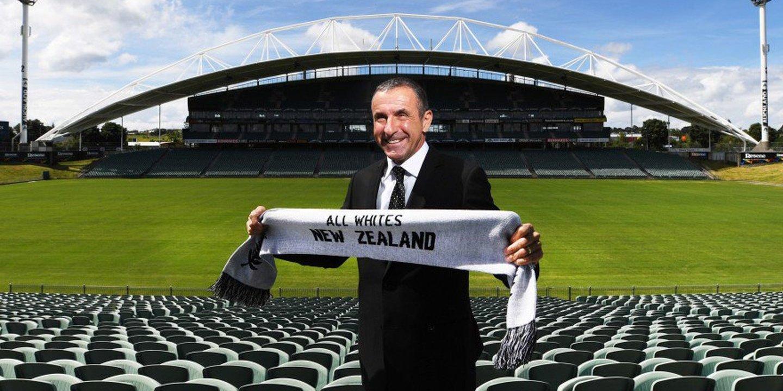 Fritz Schmid assume o cargo de selecionador de futebol da Nova Zelândia