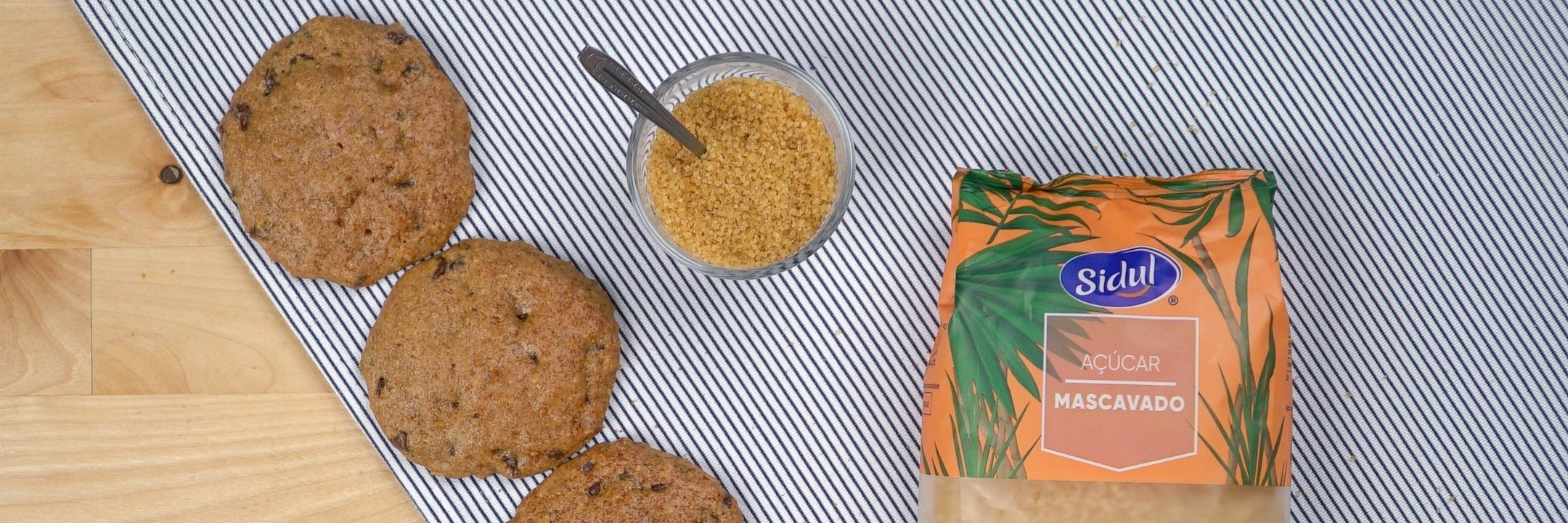 Biscoitos de batata-doce