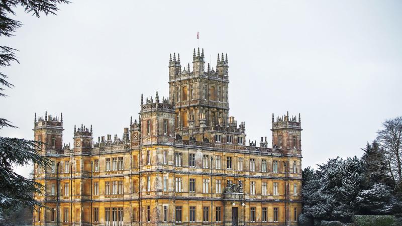 Agora é possível passar a noite no Castelo de Highclere - a casa de Downton Abbey