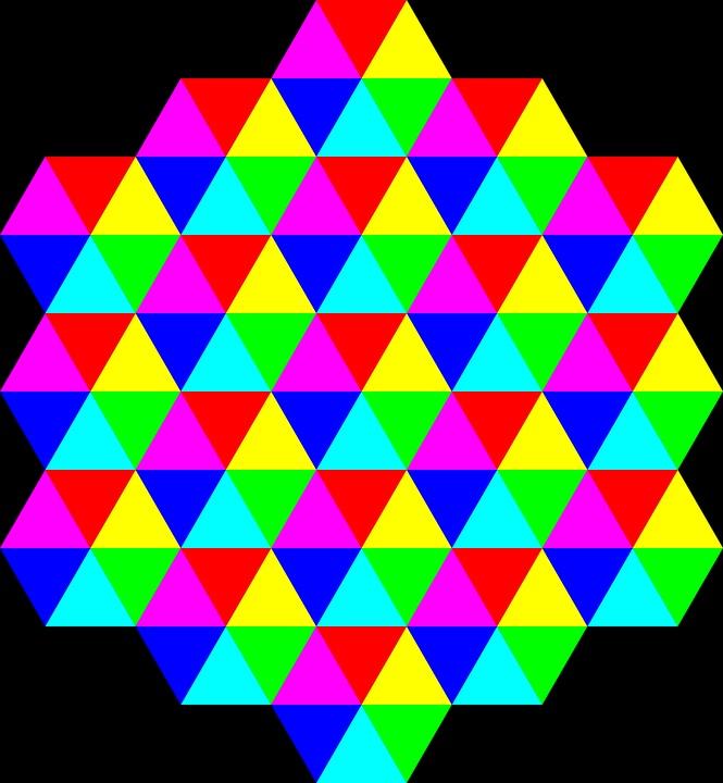 Quiz - Acertas nos triangulos coloridos? Prova que tens uma visão espacial especial!