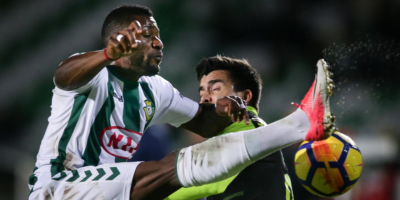 Veja os melhores lances da primeira parte da partida entre o V. Setúbal e o Sporting