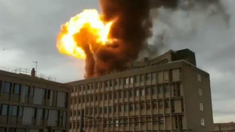 Lyon: Explosão origina incêndio em universidade francesa