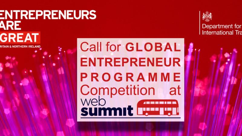 Governo inglês vai à caça de startups durante a Web Summit