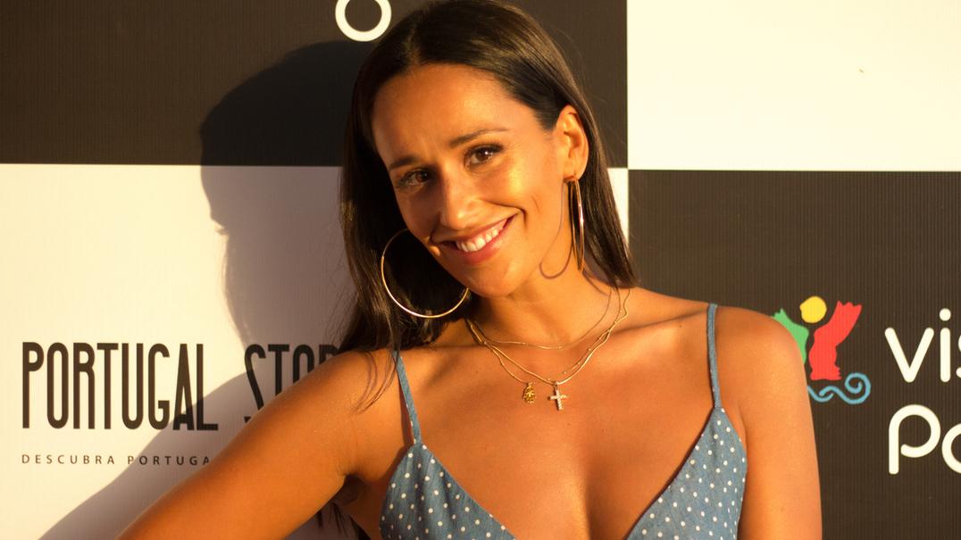 """Com Rita Pereira no Rock in Rio Brasil: """"É um orgulho estar aqui a representar Portugal"""""""