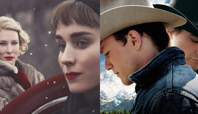 "De ""Carol"" a ""Brokeback Mountain"": as grandes histórias de amor homossexual no cinema"
